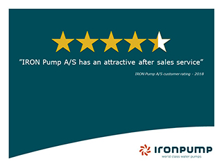 IRON Has attractive After Sales Service