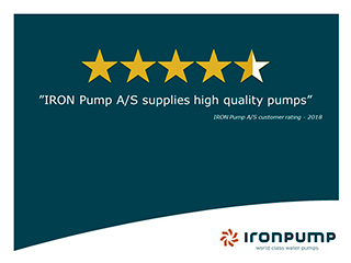 IRON Supply high quality pumps